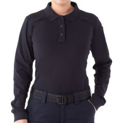 Performance Long Sleeve Polo for Women