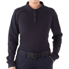 Cotton Long Sleeve Polo for Women