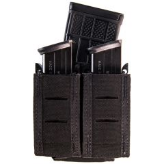 Duty Staggered Double Pistol TACO Pouch with Rifle Mag