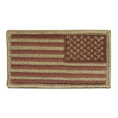 "Air Force Velcro 2""x3"" Reversed US Flag"