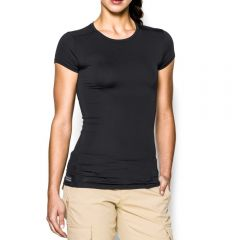 Tactical HeatGear Short Sleeve Compression Shirt for Women