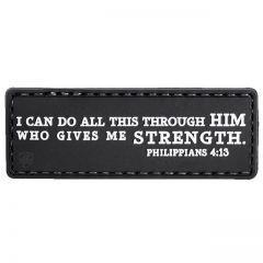 Philippians 4:13 PVC Morale Patch