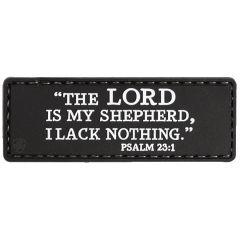 Psalm 23:1 PVC Morale Patch