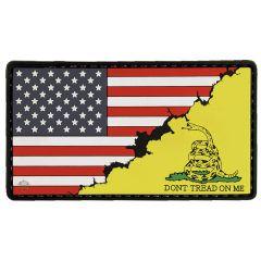 America / Don't Tread Flag PVC Morale Patch