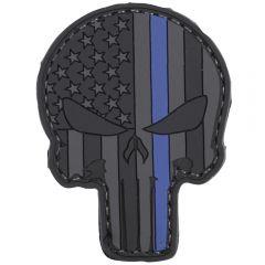 L.E. Punisher PVC Morale Patch