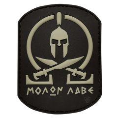 Molon-Black PVC Morale Patch