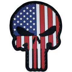Punisher - Patriotic PVC Morale Patch