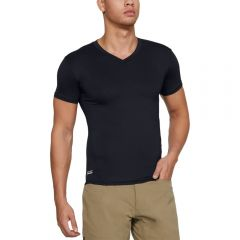 Tactical HeatGear Short Sleeve V-Neck Compression Shirt