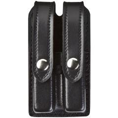 Mounted Slimline Douple Pistol Mag Pouch