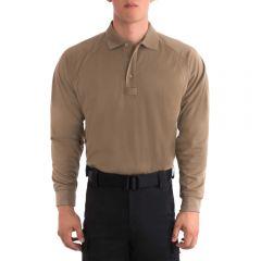 B.Cool Performance Long Sleeve Polo Shirt