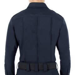 Wool Blend Long Sleeve Shirt for Women