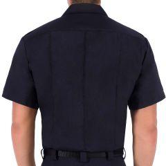 Wool Blend Short Sleeve Shirt