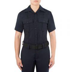 Wool Blend Short Sleeve Shirt for Women