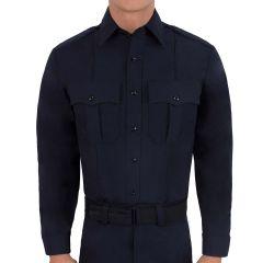 Wool Blend Long Sleeve Shirt