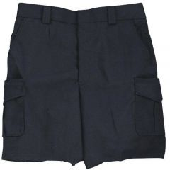 Side-Pocket Cotton Blend Shorts for Women