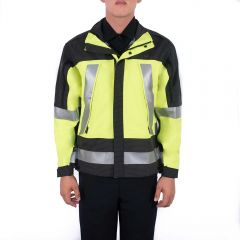 Hi-Vis Supershell Jacket with Gore-Tex