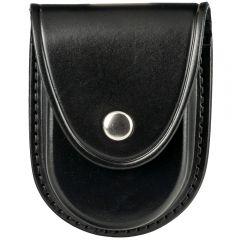 Leather Round Bottom Handcuff Case