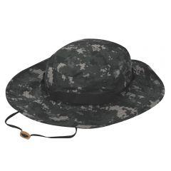 Wide Brim 65/35 Poly/Cotton Ripstop Boonie Hat