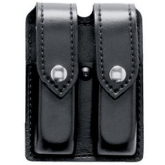 Mounted Duty Double Pistol Mag Pouch