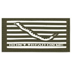 "2""x4"" Glo Don't Tread On Me Flag"