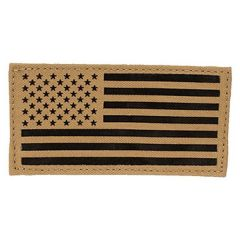"2""x4"" IR American Flag IFF Patch"