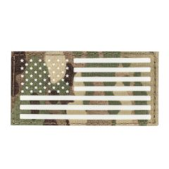 "2""x4"" Glo American Flag IFF Patch"