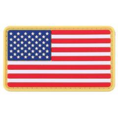 U.S. Flag PVC Morale Patch