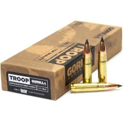 Troop 300BLK 110gr Nosler Varmageddon Cartridges