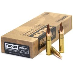 Troop 300BLK 147gr Full Metal Jacket Cartridges