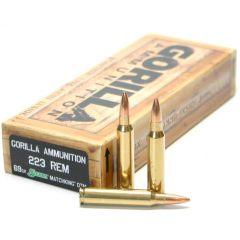 223 REM 69gr Sierra MatchKing Match Grade Cartridges