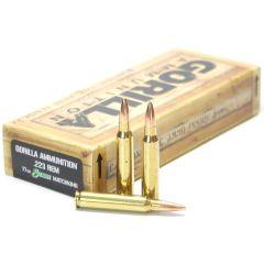 223 Rem 77gr Sierra MatchKing Match Grade Cartridges