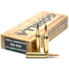 260 REM 123gr Sierra MatchKing Match Grade Cartridges