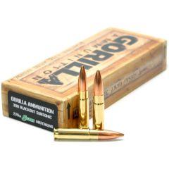 300 BLK Subsonic 220gr Sierra MatchKing Match Grade Cartridges