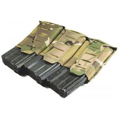 Stackable Ten-Speed Triple M4 Mag Pouch