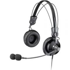 Lightweight Premium Dual Ear Headset with Noise Cancelling Microphone