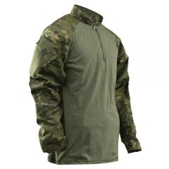 T.R.U. 50/50 NYCO Ripstop 1/4 Zip Combat Shirt