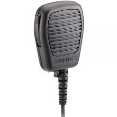 Low Profile Speaker Mic with Coiled Cord