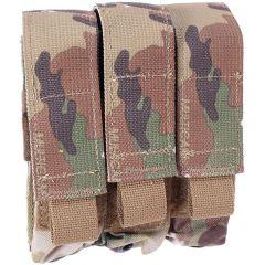Velcro Flap Triple Pistol Mag Pouch