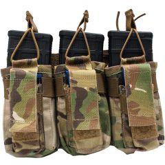 Triple Rifle / Triple Pistol Mag Pouch