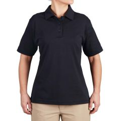 Uniform Cotton Short Sleeve Polo for Women
