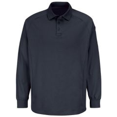 New Dimension Long Sleeve Polo