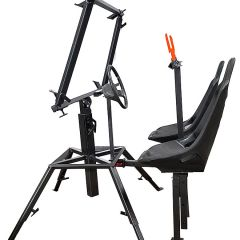 Sniper Window Stand Seat and Wheel Accessory