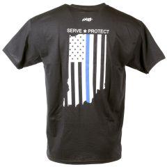 Indiana Thin Blue Line Tee Shirt
