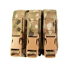 Modular Triple Pistol MOLLE Mag Pouch