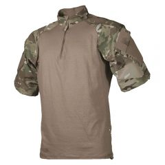 T.R.U. Short Sleeve Poly/Cotton Ripstop 1/4 Zip Combat Shirt