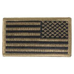Reversed 2x3 Velcro OCP American Flag